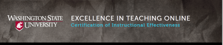 Excellence in Teaching Online 2015+