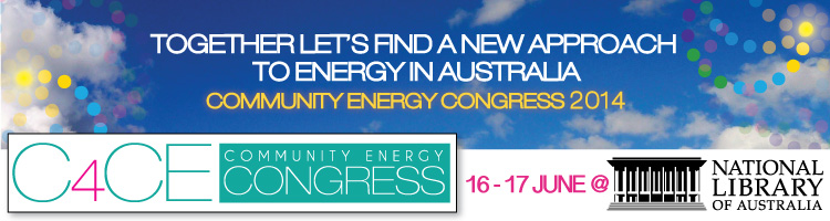 C4CE Community Energy Congress 2014