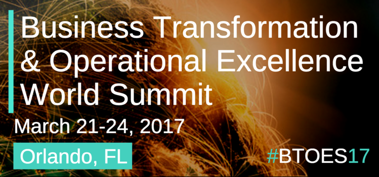 Business Tranformation & Operational Excellence World Summit & Industry Awards