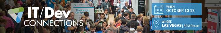 IT/Dev Connections 2016