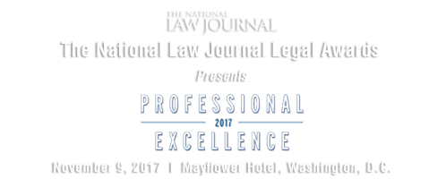 2017 The National Law Journal Legal Awards