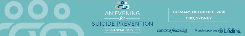 An Evening for Suicide Prevention in Financial Services