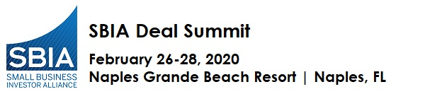2020 SBIA Deal Summit