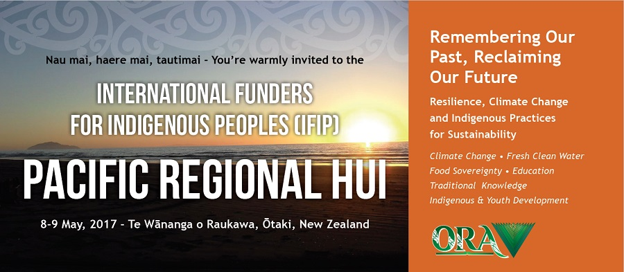 IFIP Pacific Regional Hui, Otaki, New Zealand, 8 - 9 May 2017