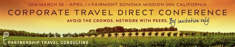 Corporate Travel Direct Sonoma Conference 2016