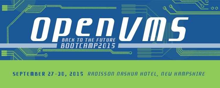 OpenVMS Boot Camp 2015