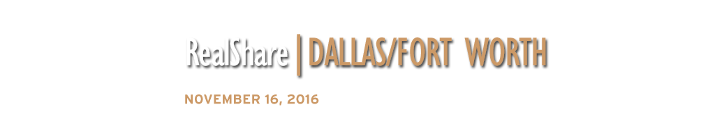2016 RealShare Dallas