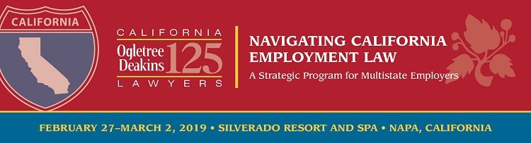 Navigating California Employment Law 2019