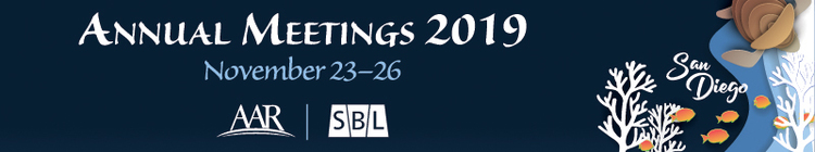 Annual Meetings 2019 hosted by AAR & SBL