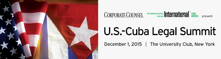 U.S.-Cuba Legal Summit 2015
