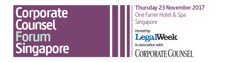 2017 Corporate Counsel Forum Singapore