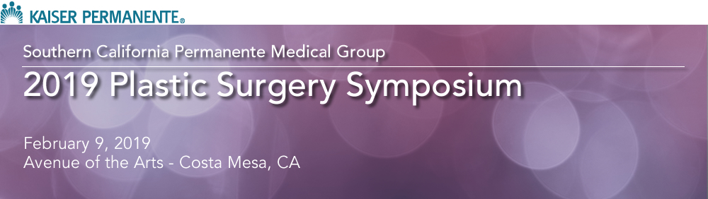 2019 Plastic Surgery Symposium