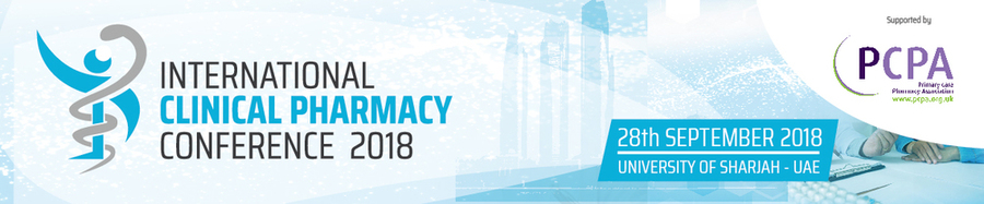 International Clinical Pharmacy Conference_Sep 28 , 2018